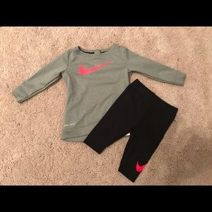 Nike 2 piece dri-fit outfit
